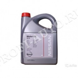 Масло Nissan 5w30 Motor Oil SL/CF A5/B5 (1л) синт.