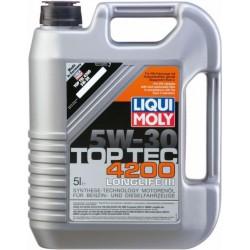 Масло LIQUI MOLY Top Tec 4200 5w30 SN/CF A3/B4/C3-04 5л синт.