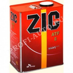 Масло ZIC Dexron 2 ATF 4л синт.