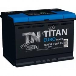 АКБ 6СТ- 74 TITAN Euro Silver о/п (700А) (0) низкий