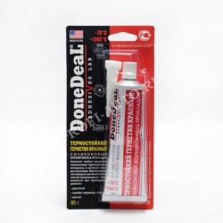 Герметик-прокладка Done Deal (формирователь) силиконовый красный термостойкий (85гр)