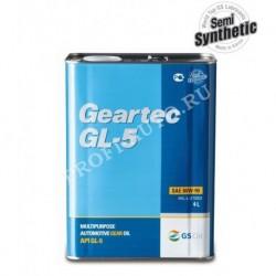 Масло KIXX Geartec 80w90 GL-5 4л п/синт