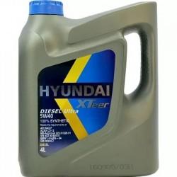 Масло HYUNDAI XTeer Diesel Ultra 5w40 SN/CF, A3/B4, C3, BMW LL-04 (4л) синт.