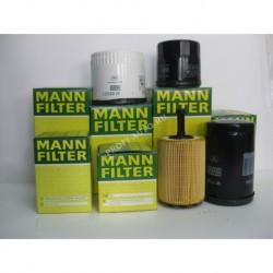 Фильтр масляный MANN W950/4 (VW T4 2,4/2,5 TDI)