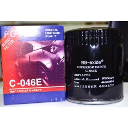 Фильтр масляный RB-exide C-0630E Hyundai i10 1.1-1.2 08-/ i10 1.0-1.2 13-/i20 1.2 09-