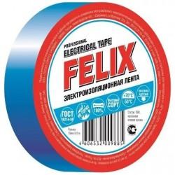 Изолента FELIX синяя 19мм х 10м