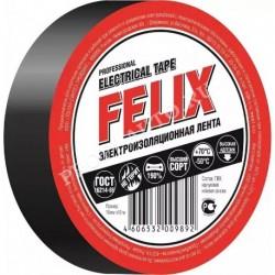 Изолента FELIX черная 19мм х 10м