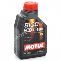 Масло Motul 8100 Eco-clean 5w30 API SM/CF ACEA C2 (1л) синт.