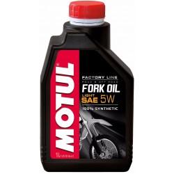 Масло Motul FORK OIL FL Light 5W (1л) синт. (для инверсивных телескопических и классических вилок)